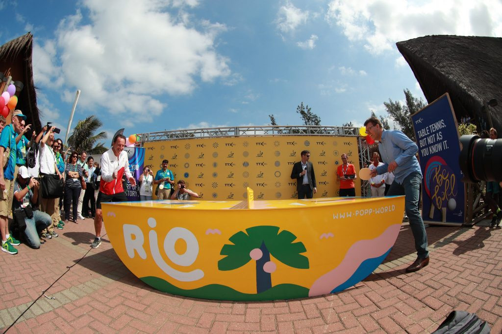 ITTF launch Table Tennis X format at Rio 2016 to attract youngsters to sport