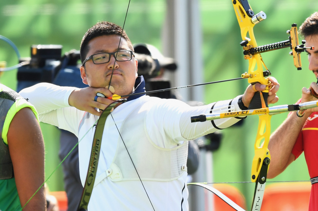 Kim breaks world record to open Rio 2016 archery action as  team final looms
