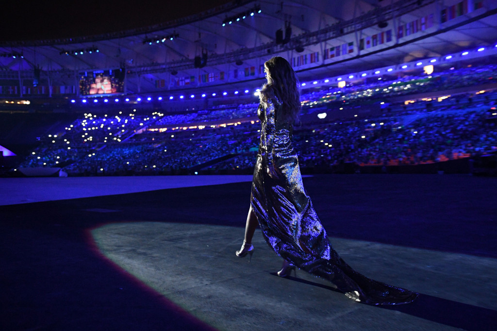 A catwalk by Gisele Bündchen was one highlight of the Rio 2016 Opening Ceremony ©Getty Images
