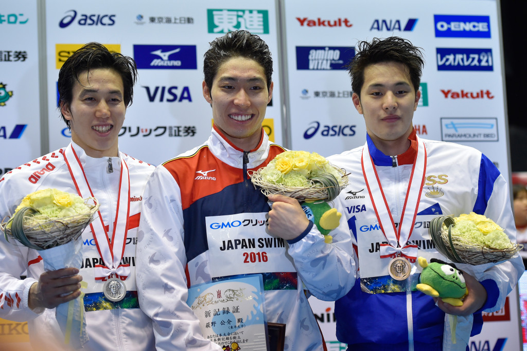 Japan's Hagino and Seto threatening to end US 400m medley five-win sequence