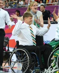 David Gould has been named as the new head coach of the Australian women's wheelchair basketball team ©APC
