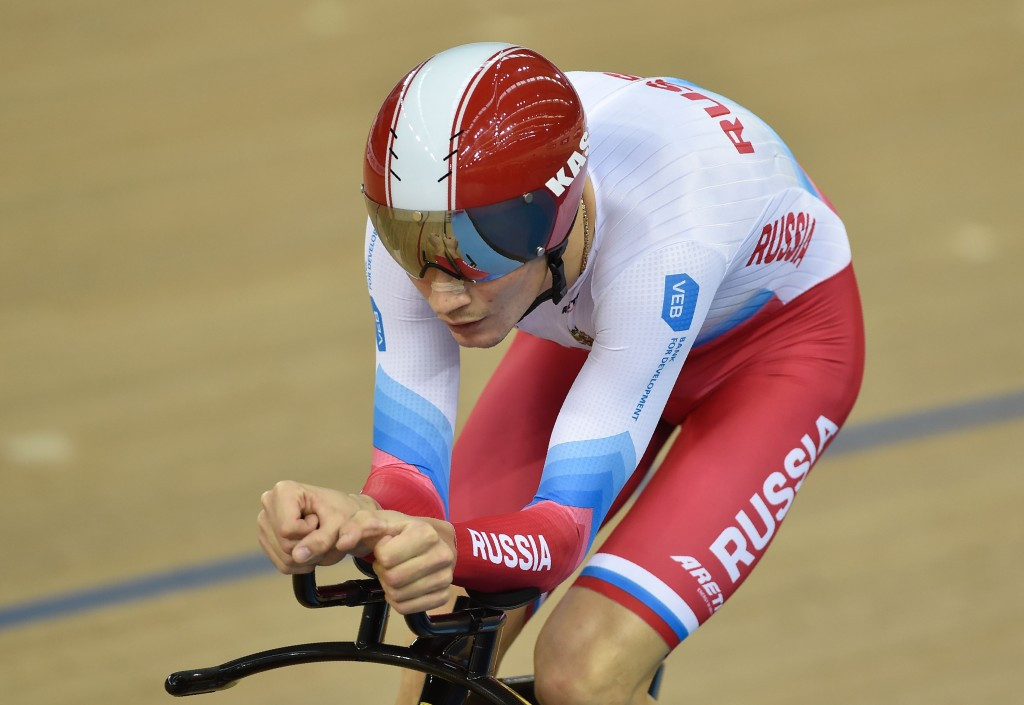 Kiril Sveshnikov is one of three Russian cyclists ruled ineligible to compete at Rio 2016 ©Getty Images