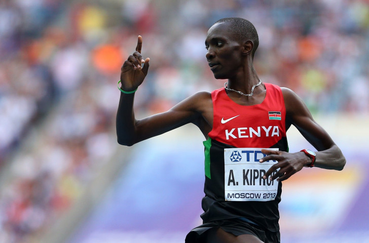 Asbel Kiprop has criticised the decision to suspend Rosa Associati, the Italian-based agents who look after him
