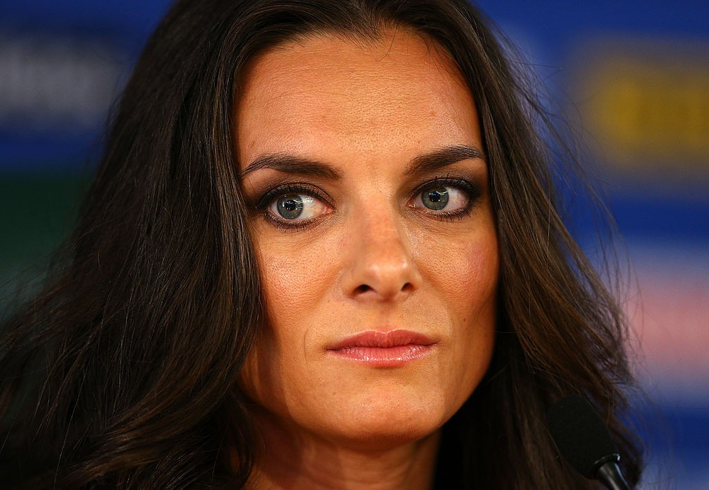 Yelena Isinbayeva is considering standing to become President of the All-Russia Athletic Federation ©Getty Images