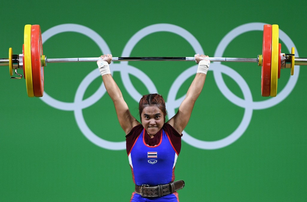 Rio 2016 gold medallist Sopita Tanasan is among several Thai weightlifters to have been sanctioned for doping ©Getty Images