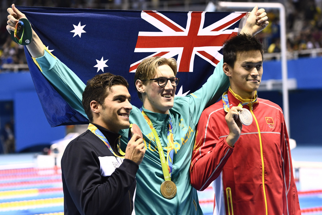 Mack Horton claimed one of two Australian gold medals tonight ©Getty Images