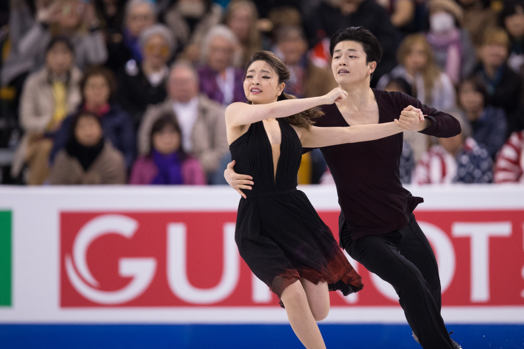 The Shibutanis, coached by Marina Zoueva in Canton, Michigan, will be presented with the Michelle Kwan Trophy ©Getty Images