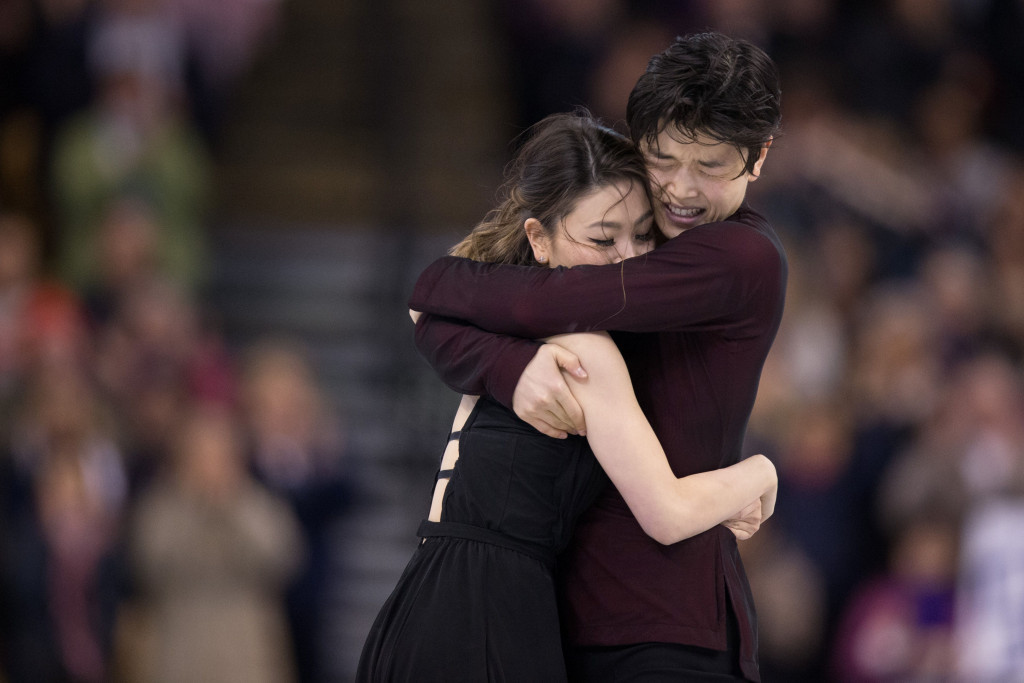 Shibutani siblings named win figure skating prize after public vote