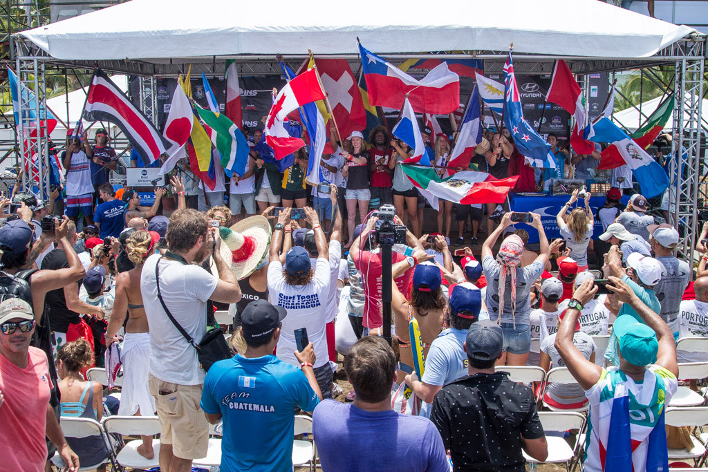 World Surfing Games in Costa Rica declared open after Olympic inclusion