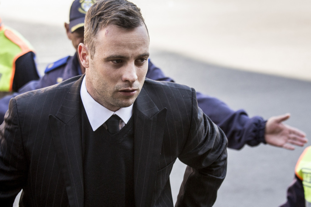 Oscar Pistorius has received treatment in hospital for wrist injuries ©Getty Images