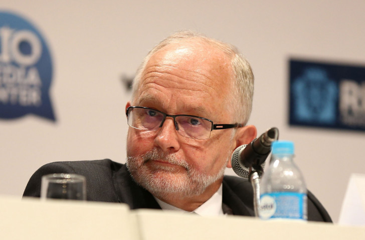 IPC President Sir Philip Craven, pictured at today's announcement in Rio de Janeiro, has said Russia is a