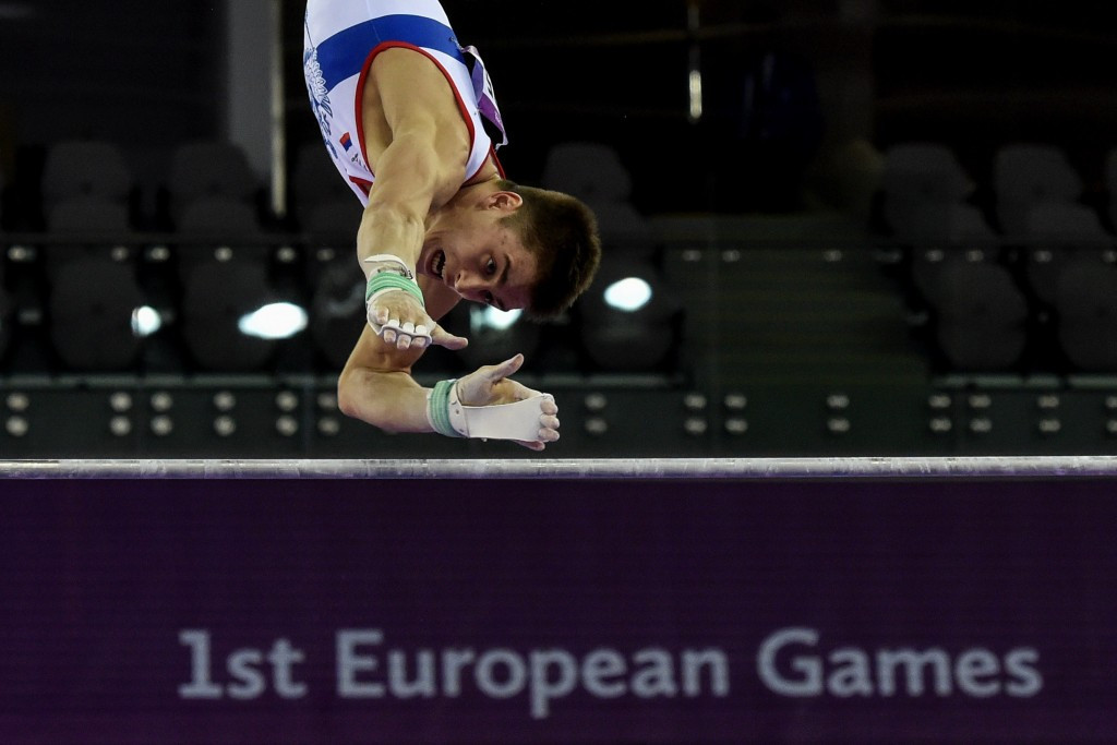 Russia secure artistic gymnastics golden double at European Games