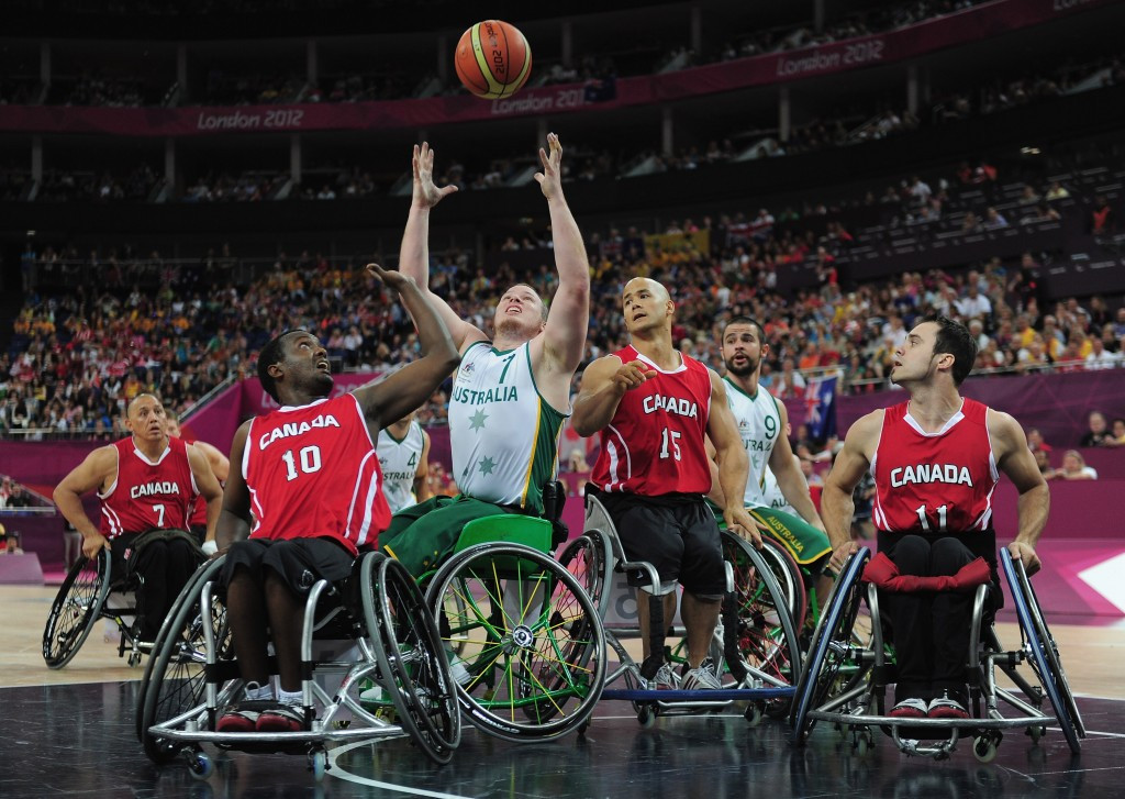 Australian Rollers in Sydney for final training camp before the Rio 2016 Paralympics