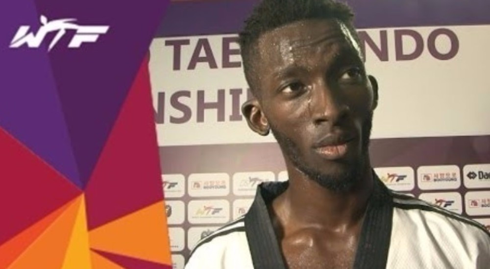 Ismael Coulibaly has won two World Championship bronze medals during his career ©WTF
