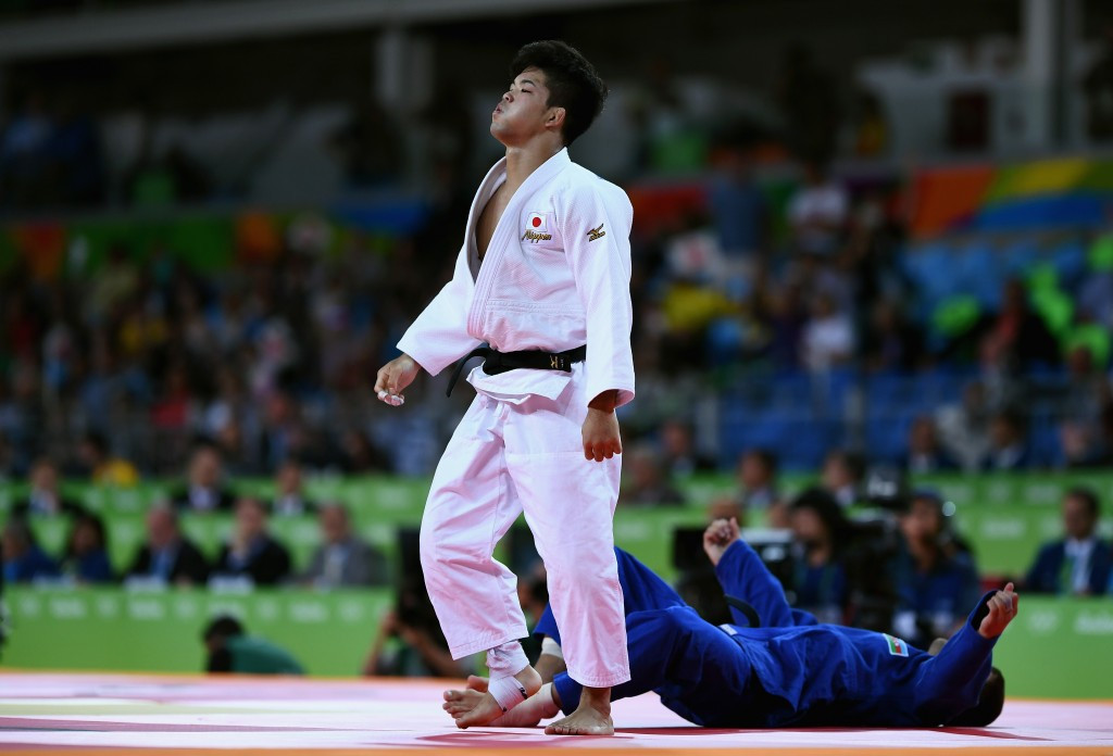 Shohei Oni produced a brilliant ippon to claim Japanese gold ©Getty Images