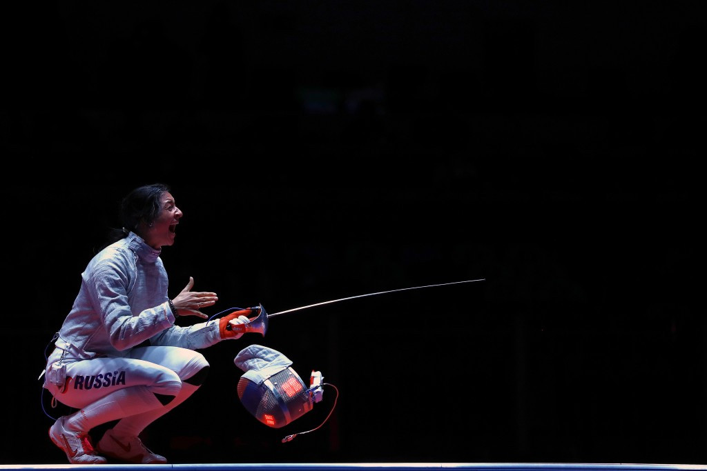 Russia take Olympic gold and silver medals in sabre at Rio 2016