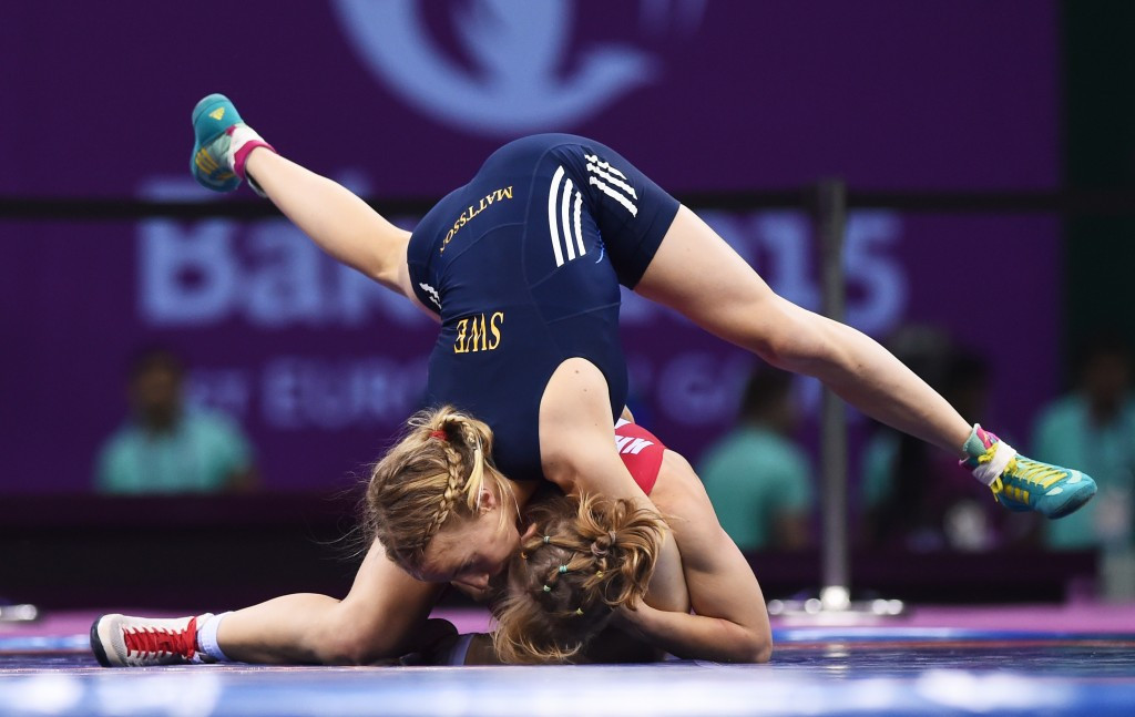 Two-time European champion Sofia Mattsson earned Sweden's first gold medal of the Games
