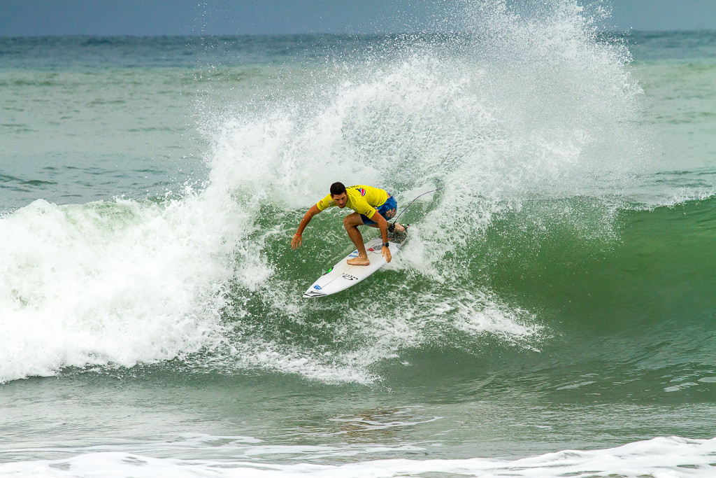 Argentina's Felipe Suarez was also in action and he posted a score of 10.00 ©ISF