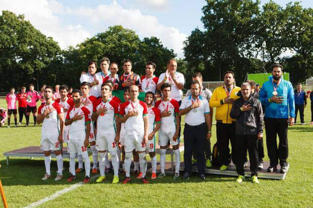 Iran beat Scotland 4-0 in Vejen, Denmark to secure a spot at next year's World Championships ©IFCPF