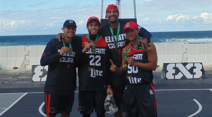 Guam were victorious in the International Basketball Federation 3x3 Pacific Championships ©FIBA