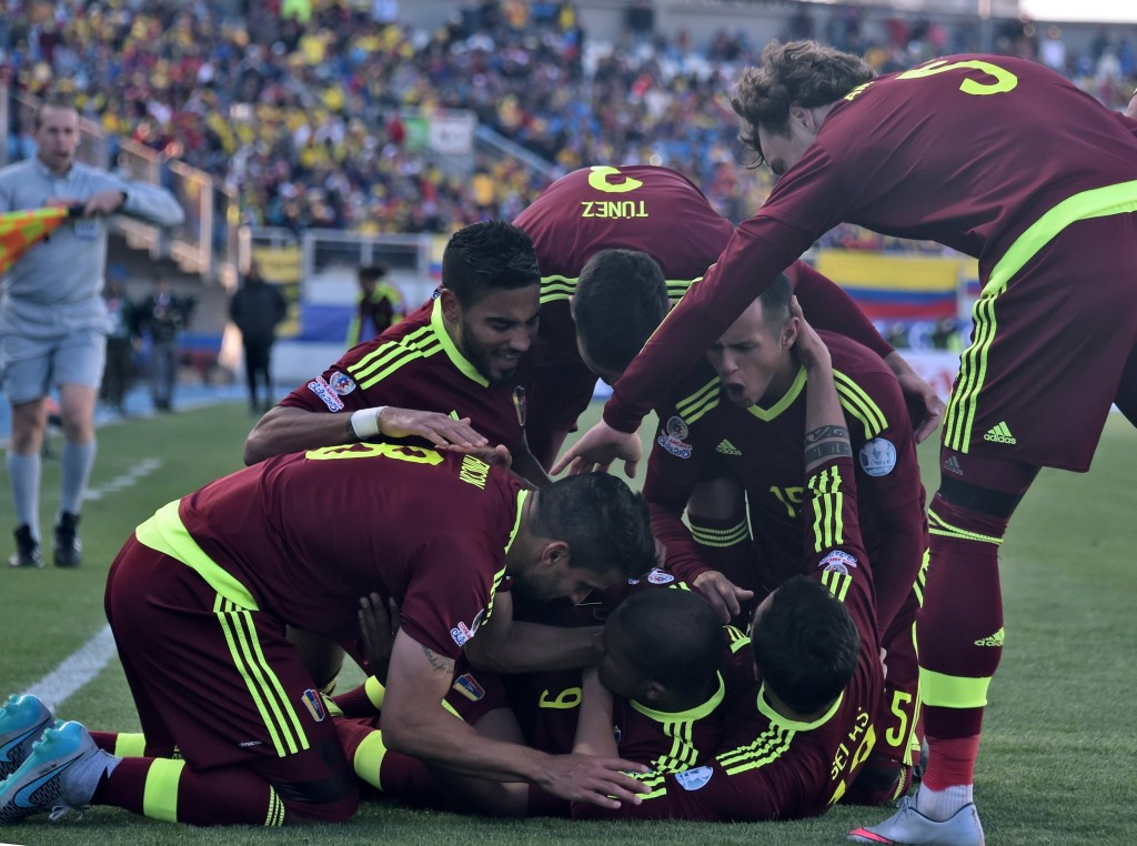 Colombia stunned by Venezuela in Copa América Group C opener