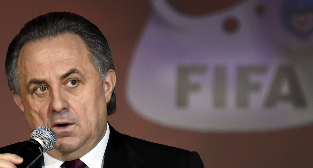 Mutko backed for re-election as Russian Football Union President