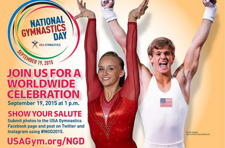 Olympic gold medallists to co-chair National Gymnastics Day
