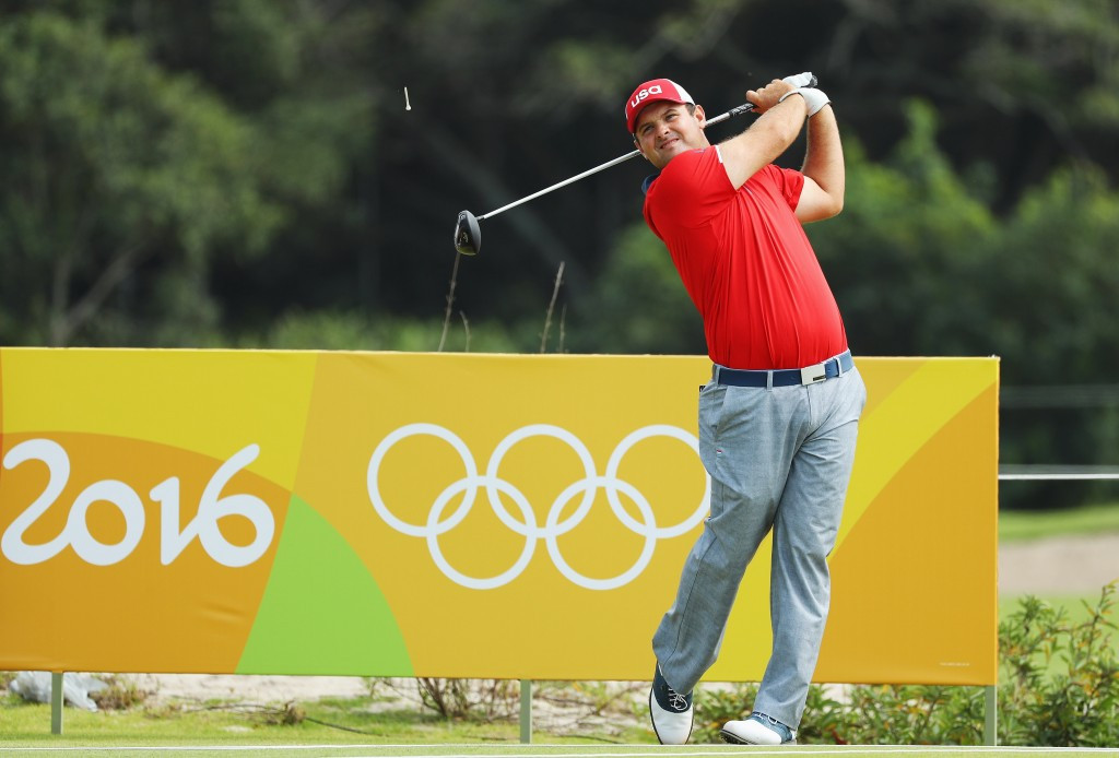 Patrick Reed said being at the Olympics was almost
