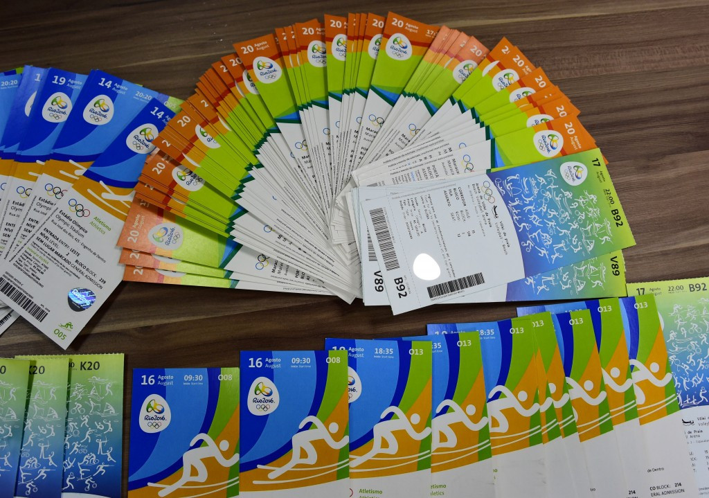The International Olympic Committee are investigating introducing a new system to deal with tickets for future Games ©Getty Images