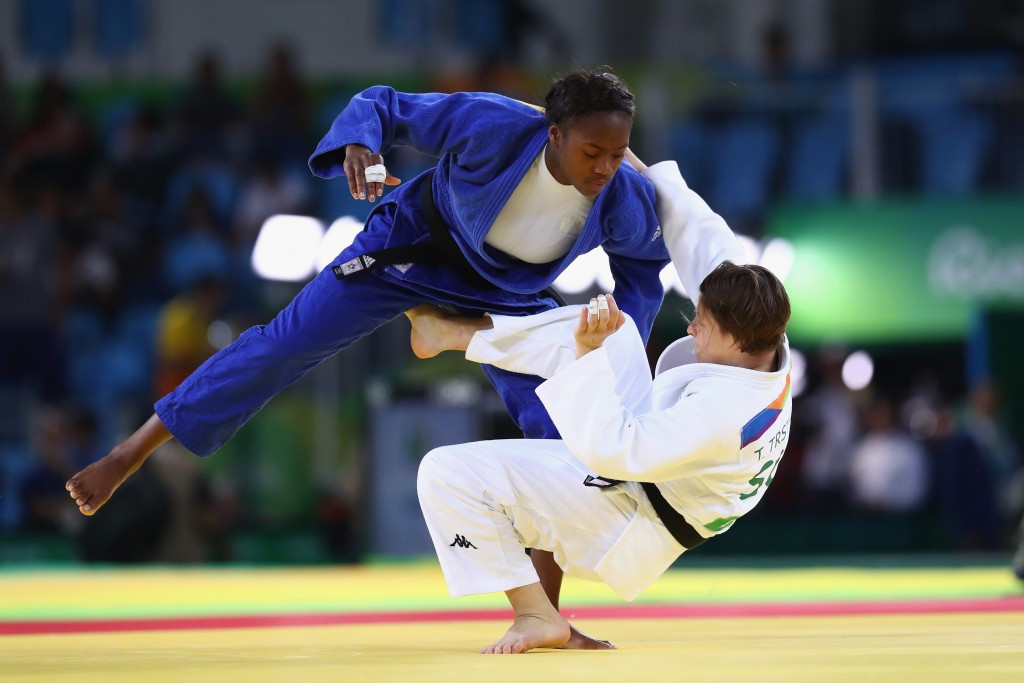Slovenia's Tina Trstenjak won the women's under 63kg title ©Getty Images