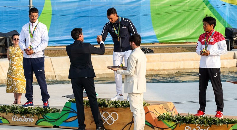 Gargaud Chanut succeeds compatriot Estanguet as men's Olympic C1 champion