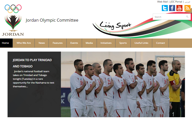 The website aims to allow the JOC to communicate better with its National Federations and local sports fans