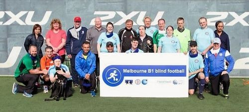 Blind football workshop takes place in Melbourne