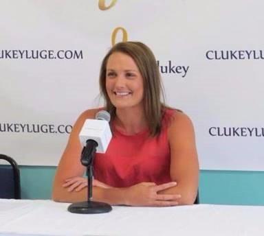 Olympian Julia Clukey announces luge retirement