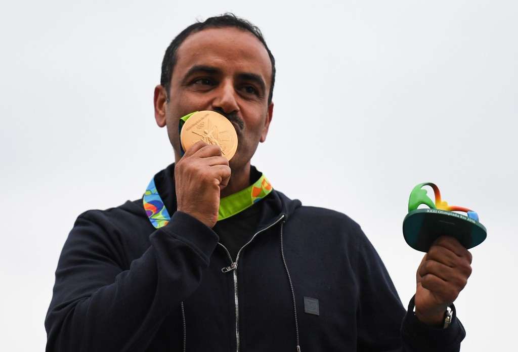 Fehaid Al-Deehani is competing as an Independent Olympic Athlete as a result of the IOC's decision to ban Kuwait from competing at Rio 2016 because of Government interference in the country's sports administration ©Getty Images