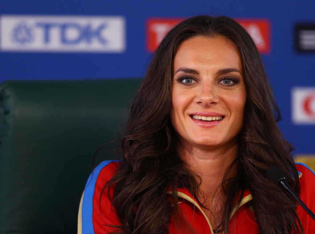 Yelena Isinbayeva has officially announced she will stand to become President of the All-Russia Athletic Federation ©Getty Images