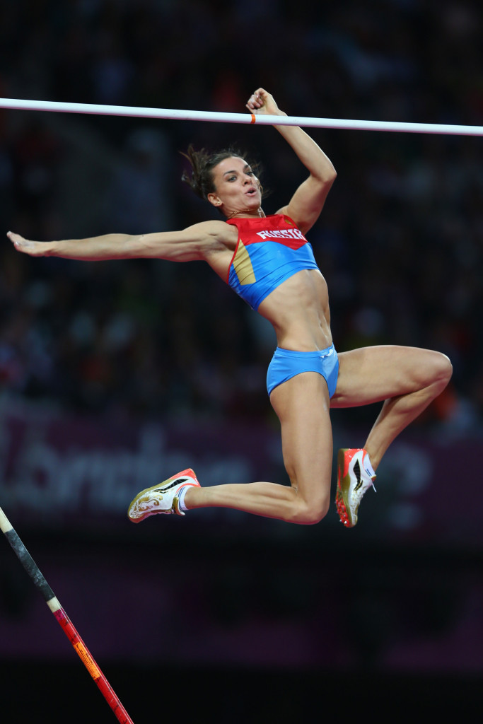Yelena Isinbayeva has failed to get oveturned the IAAF's ban on Russia participating at Rio 2016 ©Getty Images