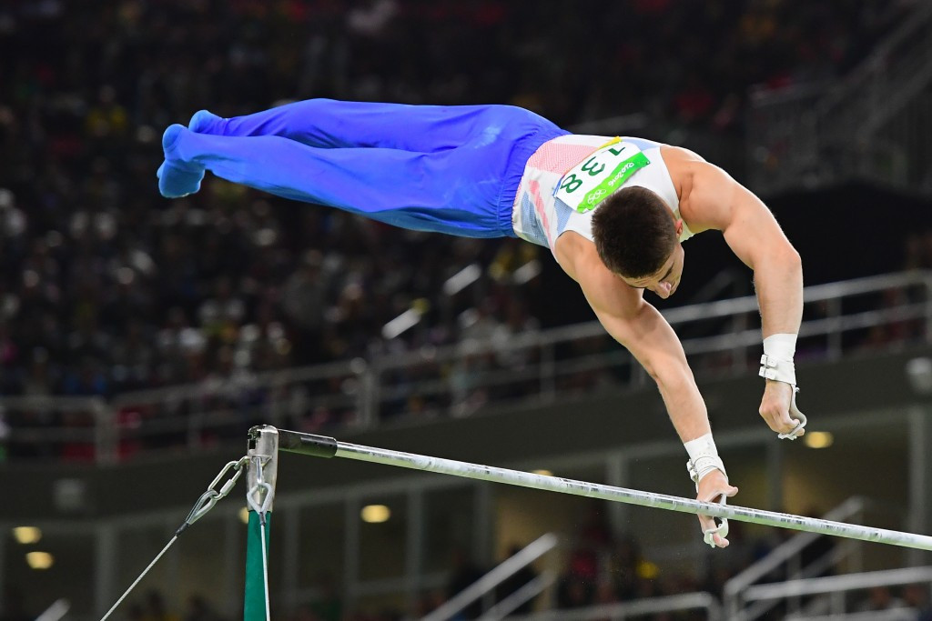 Max Whitlock became Britain's first all-around gymnastics medallist since 1908 ©Getty Images