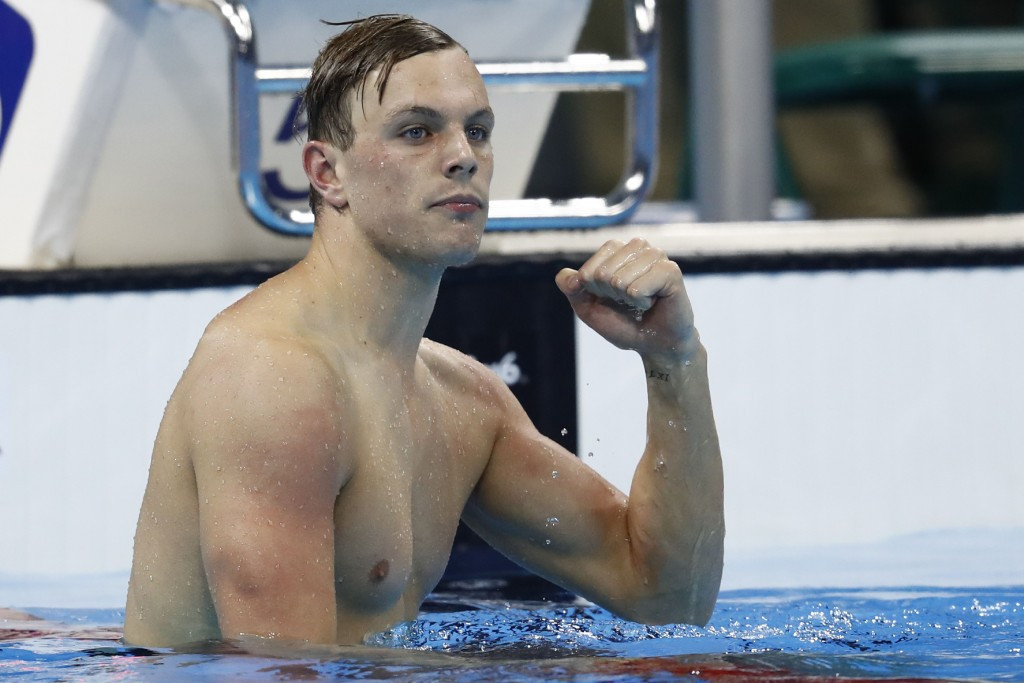 Teenager Kyle Chalmers claimed the 100m freestyle Olympic title ©Getty Images