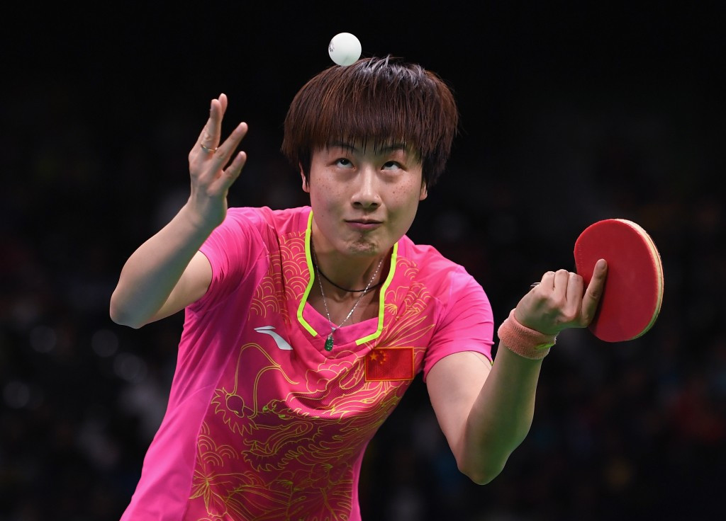 Ding Ning turns the table tennis tables on Li as they maintain Chinese Olympic supremacy