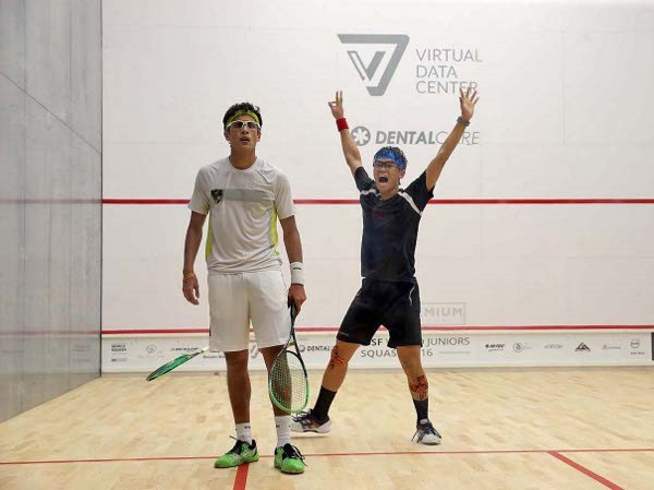 Eain Yow Ng becomes first Malaysian in seven years to reach final of World Junior Squash Championships