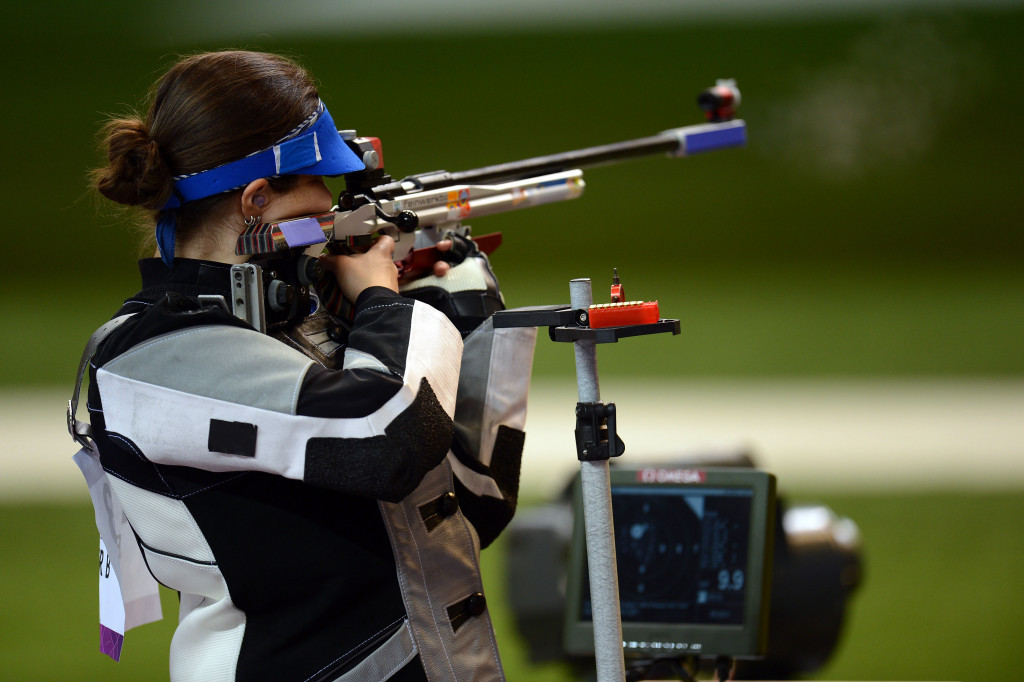 Engleder secures Rio 2016 women's 50m rifle three positions title with Olympic record score