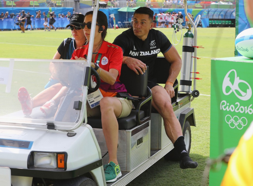 Sonny Bill Williams reportedly experienced a 90-minute wait for an ambulance ©Getty Images