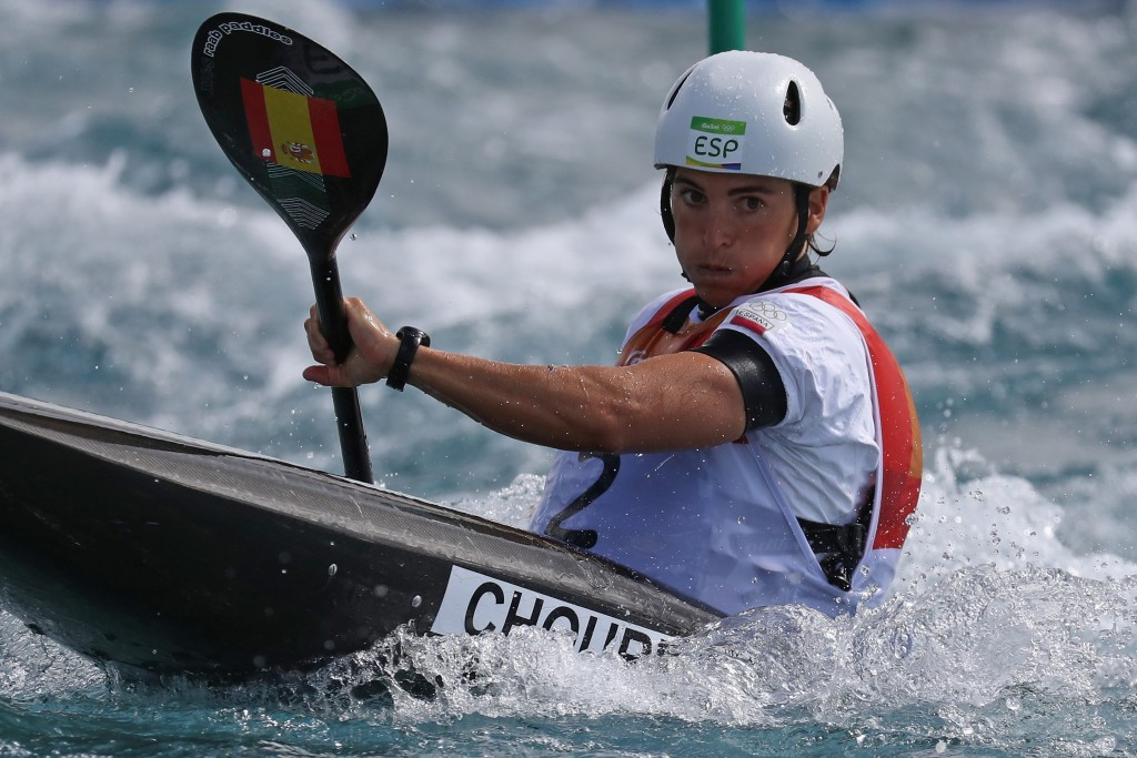 Spain's Maialen Chourraut clinched the gold medal in the women's K1 kayak event ©Getty Images