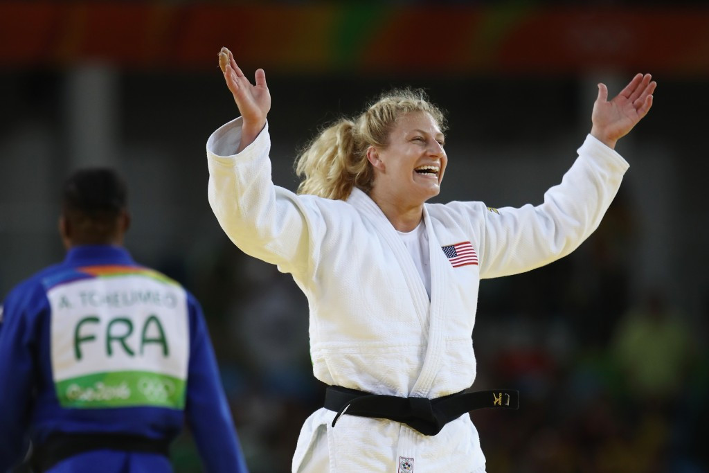 American judoka Kayla Harrison confirmed her retirement after successfully defending her women's under 78 kilograms Olympic title ©Getty Images