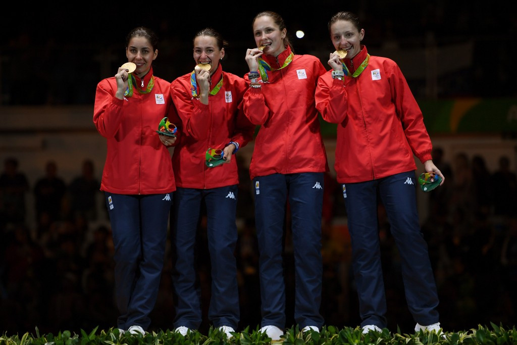 Romania win women's épée team event to claim first medal of Rio 2016