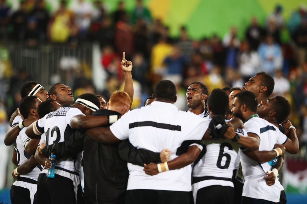 Fiji claim first ever Olympic gold medal after thrashing Britain in rugby sevens final