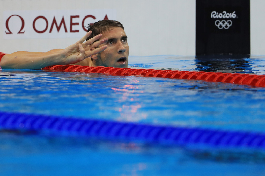 Michael Phelps was too good yet again to take a fourth gold medal of Rio 2016 ©Getty Images