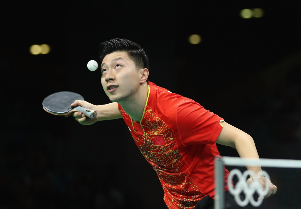 Ma doesn't take Long to deprive fellow Chinese Zhang of his Olympic table tennis title