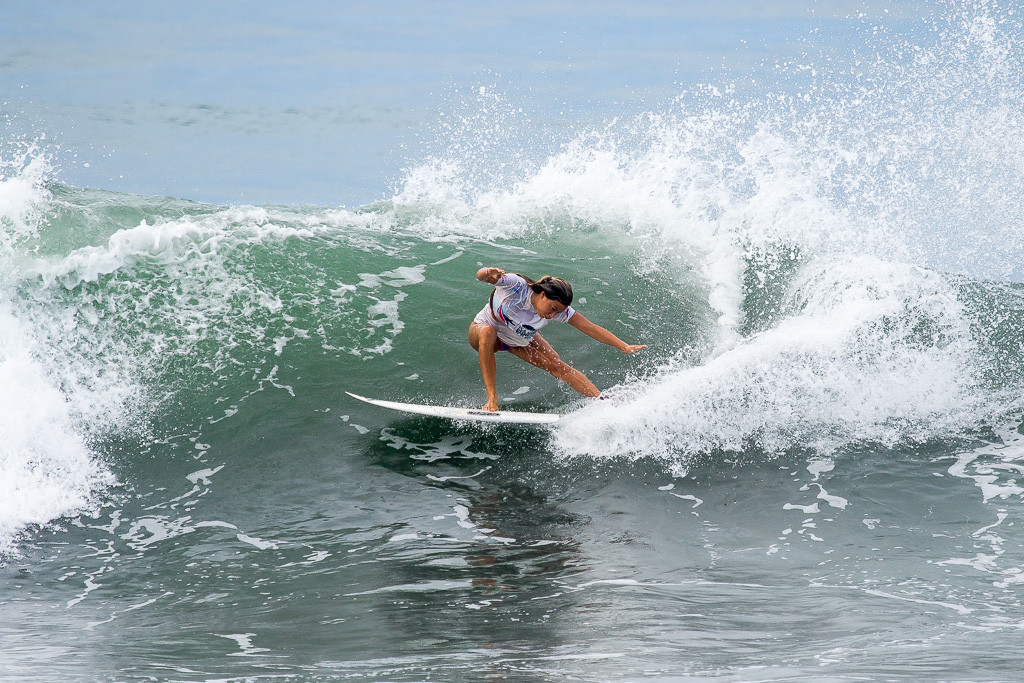 The United States' Tia Bianco was in good form on day five ©ISA